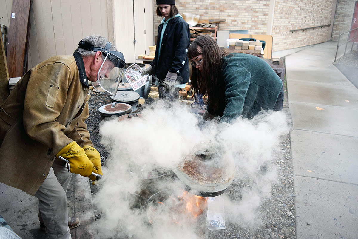 The Art Center, Grand Junction, Colorado, Raku with Teens