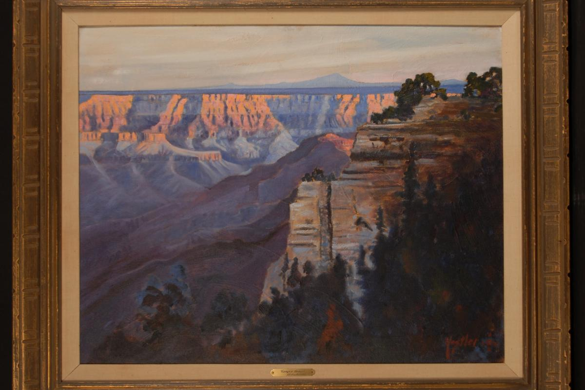 Alfred Nestler, Canyon Sunset