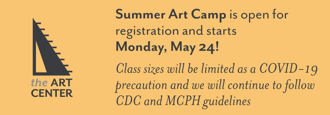 Summer Art Camp is open for registration